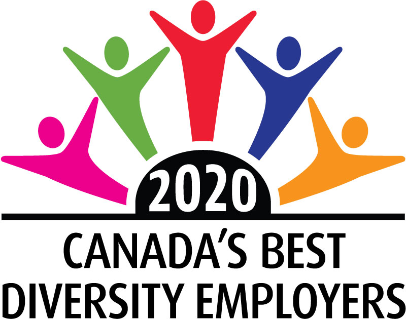 Logo 2020 Canada's Best Diversity Employers
