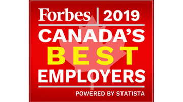 Forbes Canada's Best Employer logo
