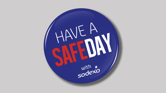 Have a safe day button