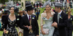 Royal Ascot guests